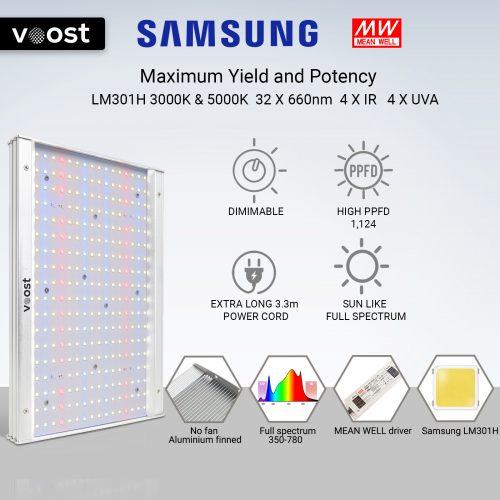 Voost VST120 LED Grow Light